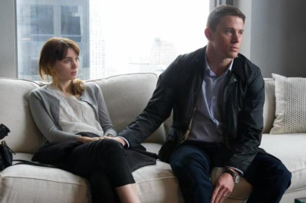 Mara and Tatum in 'Side Effects,' the last theatrical Steven Soderbergh film...for now.